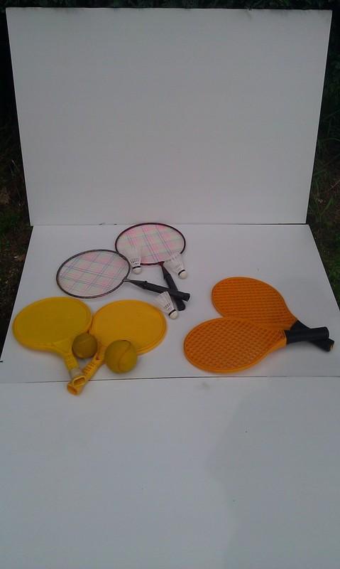 Racket spelen