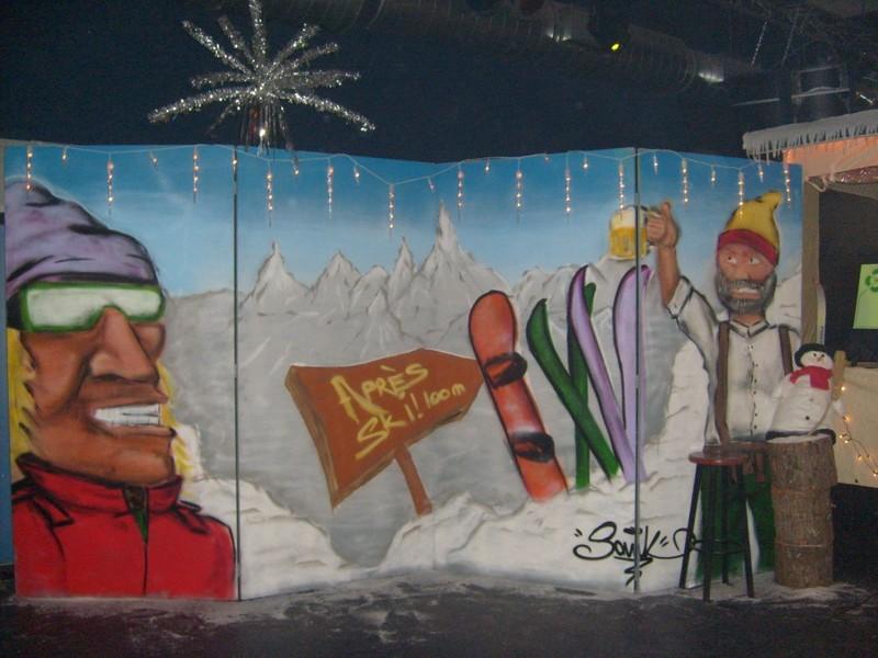 apres ski thema